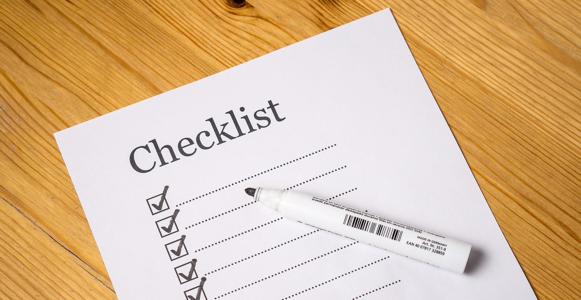 kündigung checkliste